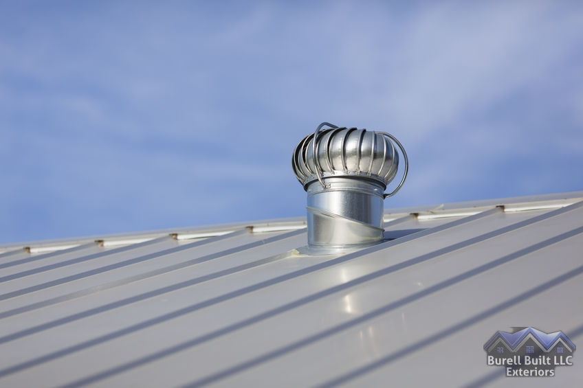 metal roofing with venting