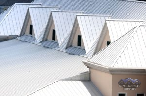 White Metal Roof