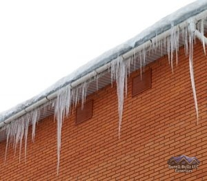 prepping your roof for the winter, icicles